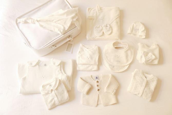 Petit bateau valise maternité 01
