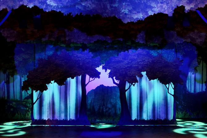 The Cherry Blossom Girl - Disneyland Paris La Foret De L'Enchantement 12
