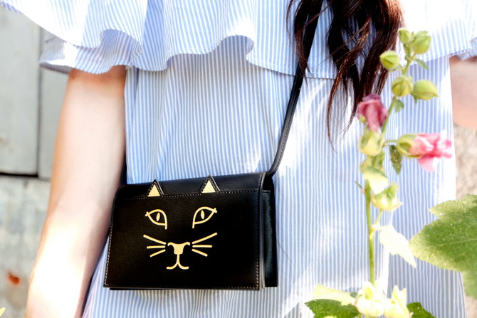 The Cherry Blossom Girl - Charlotte Olympia Kitty bag 06