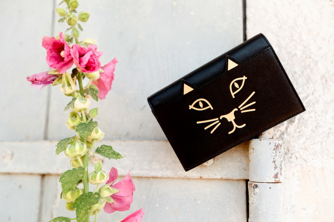 The Cherry Blossom Girl - Charlotte Olympia Kitty bag 07