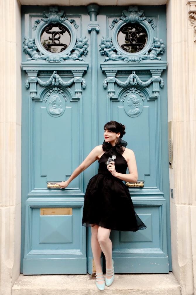 The Cherry Blossom Girl - La Petite Robe Noire 14