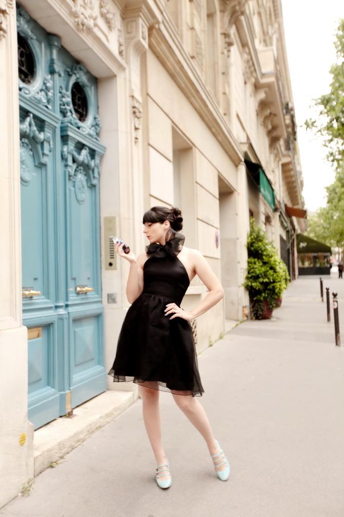 The Cherry Blossom Girl - La Petite Robe Noire 16
