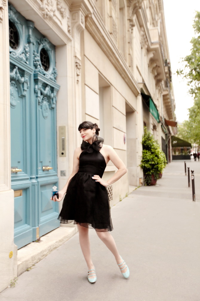 The Cherry Blossom Girl - La Petite Robe Noire 17