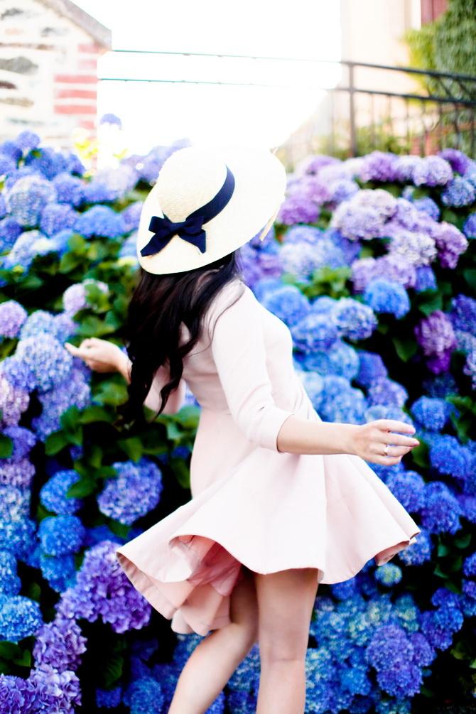 The Cherry Blossom Girl - Les Fleurs hortensia 01