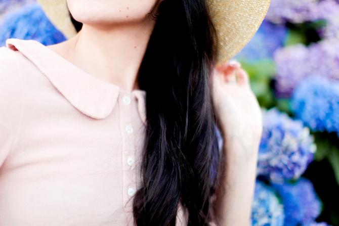 The Cherry Blossom Girl - Les Fleurs hortensia 07