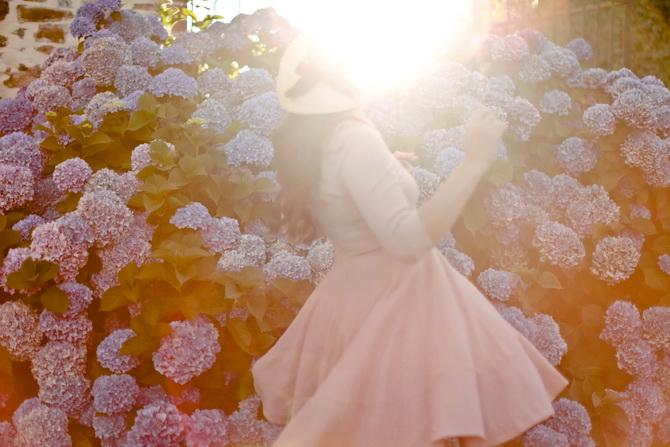 The Cherry Blossom Girl - Les Fleurs hortensia 09