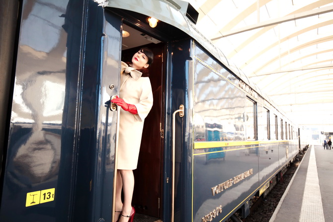 The Cherry Blossom Girl - Orient Express 12