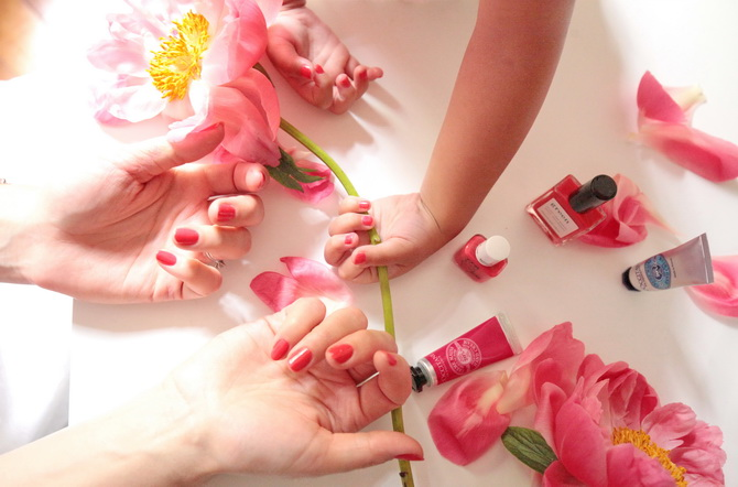 The Cherry Blossom Girl - L'occitane x manucurist 08