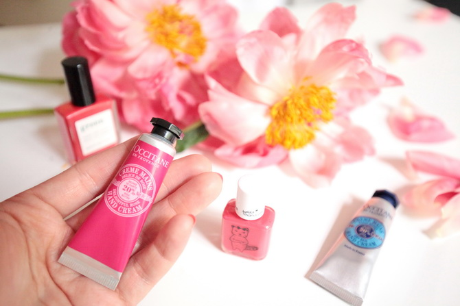 The Cherry Blossom Girl - L'occitane x manucurist 13